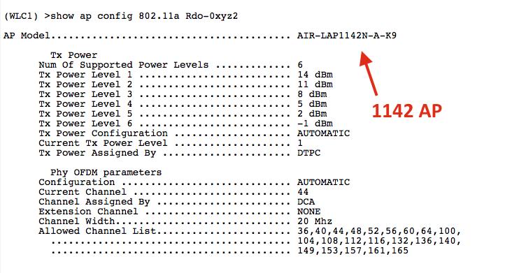 tx power level assignment