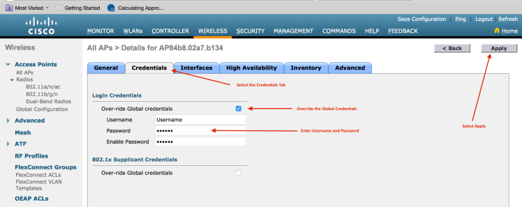 Cisco AirProvision Issue with UX Access Points – WiFiTodd